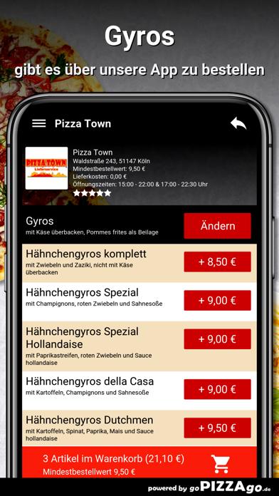 Pizza Town Köln screenshot 6