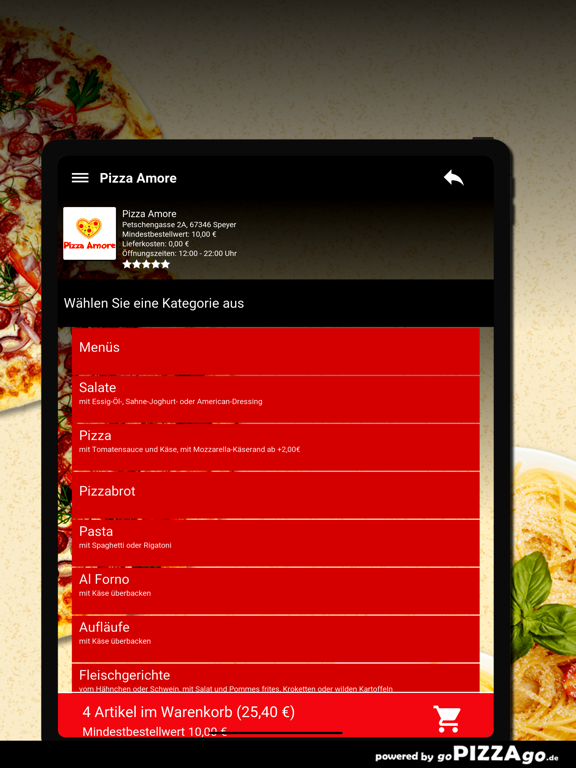 Pizza Amore Speyer screenshot 8