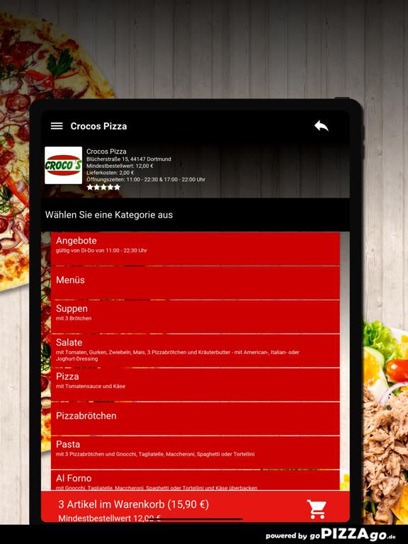 Crocos Pizza Dortmund screenshot 8