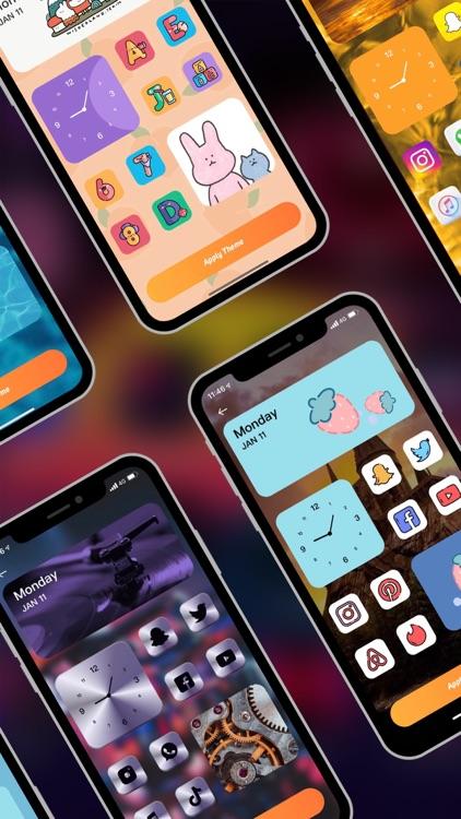 Vivid Live Wallpaper 3D&Themes screenshot-5