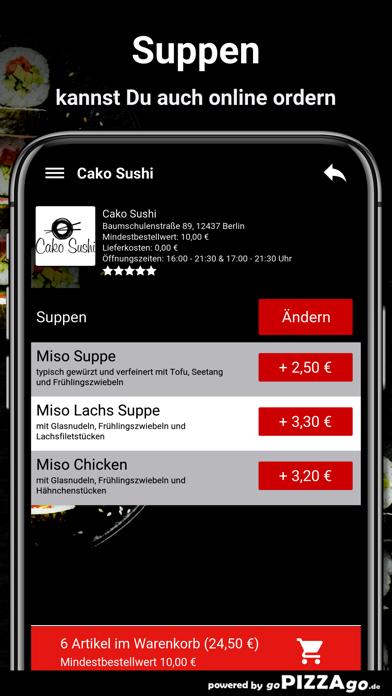 Cako Sushi Berlin screenshot 5