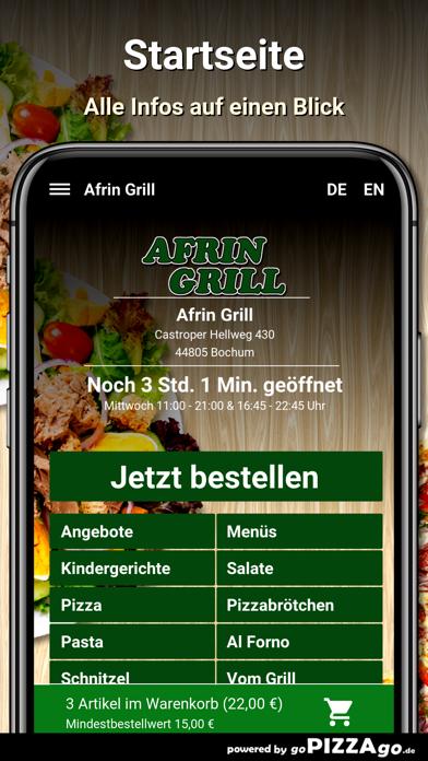 Afrin Grill Bochum screenshot 2