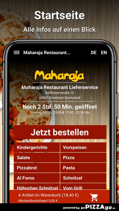 Maharaja Restaurant Liefer screenshot 2