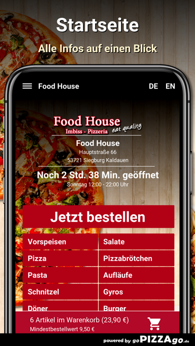 Food House Siegburg Kaldauen screenshot 4
