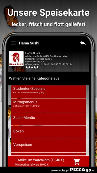 Hama Sushi Frankfurt am Main screenshot 4