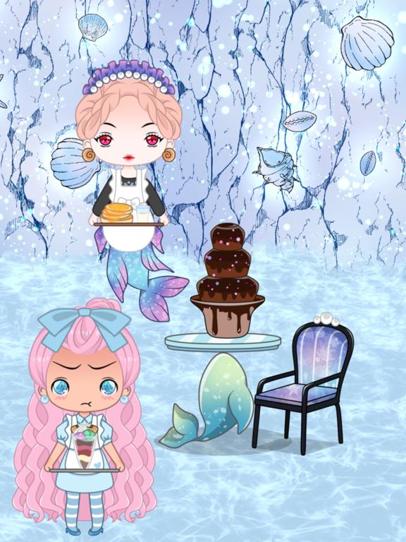 Cafegal - Dress up mini cafe screenshot 11