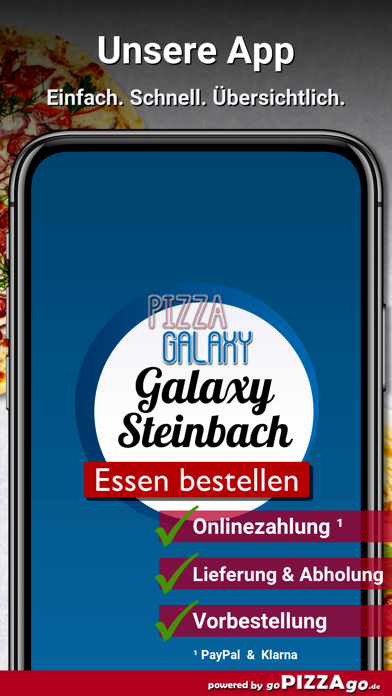 Pizza-Galaxy Steinbach screenshot 1
