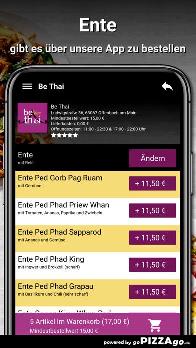 Be Thai Offenbach am Main screenshot 6