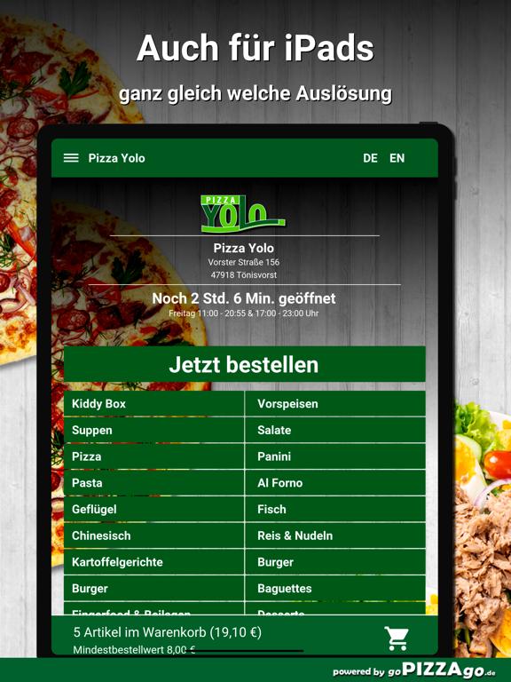 Pizza Yolo Tönisvorst screenshot 7