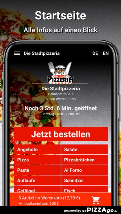 Stadtpizzeria Wetter (Ruhr) screenshot 2