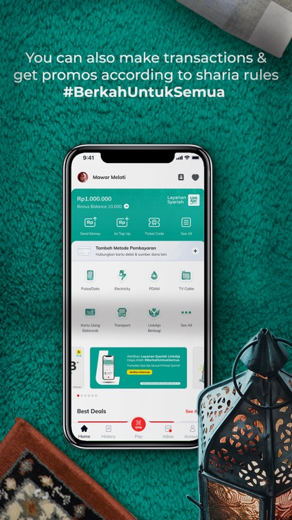 LinkAja - Financial Service screenshot-6