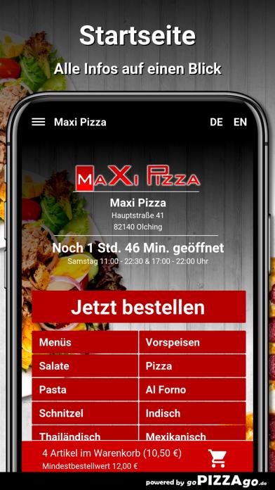 Maxi Pizza Olching screenshot 2