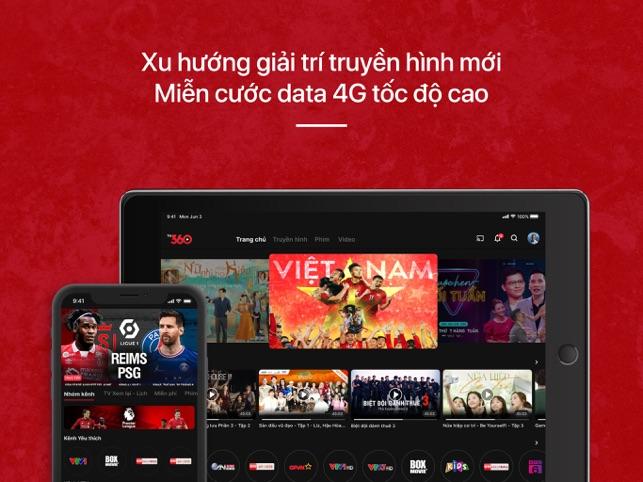 TV360 – Truyền hình trực tuyến