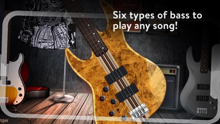 REAL BASS Electric bass guitar