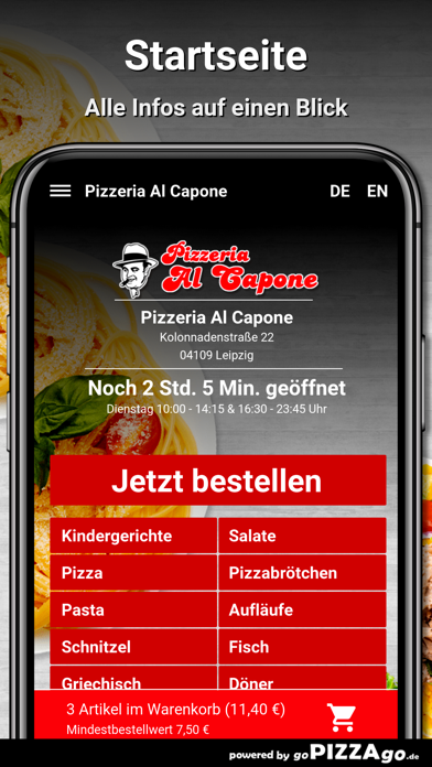 Pizzeria Al Capone Leipzig screenshot 2