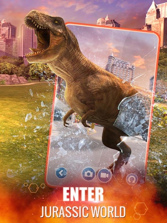Jurassic World Alive iPad app afbeelding 5