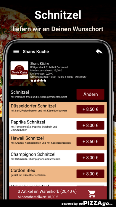 Shans Küche Dortmund screenshot 6