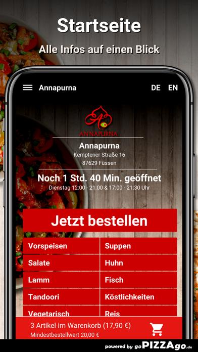 Annapurna Füssen screenshot 2