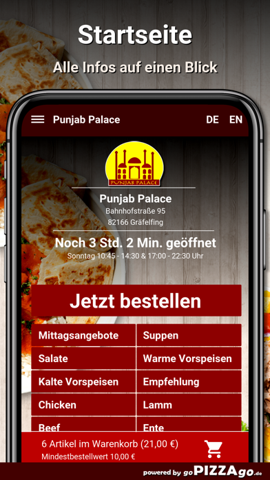Punjab-Palace Gräfelfing screenshot 2