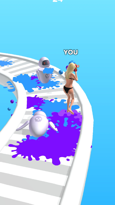 Beauty Race! screenshot 2