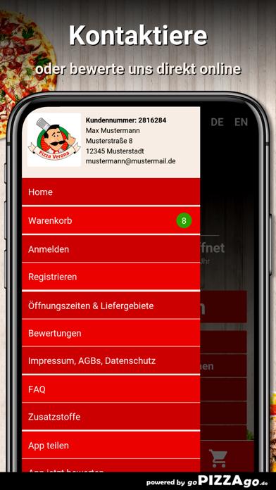 Pizza Verona Maulbronn screenshot 3