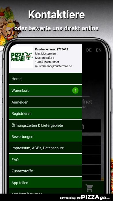 Pizza Punjabi Putzbrunn screenshot 3