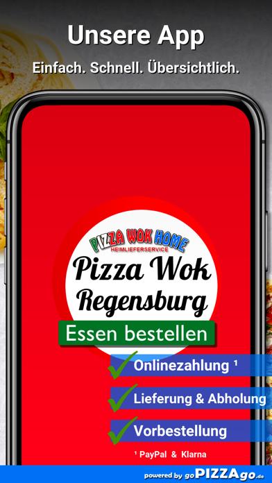 Pizza Wok Home Regensburg screenshot 1