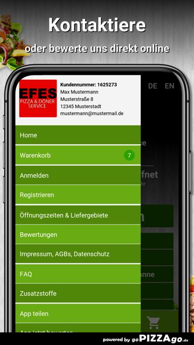 Efes Pizza & Döner Service screenshot 3