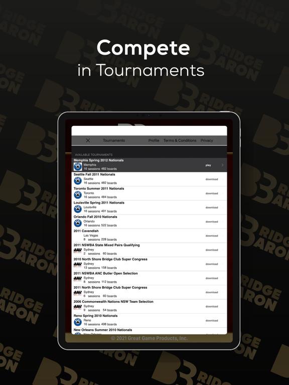 Bridge Baron Gold iPad app afbeelding 3