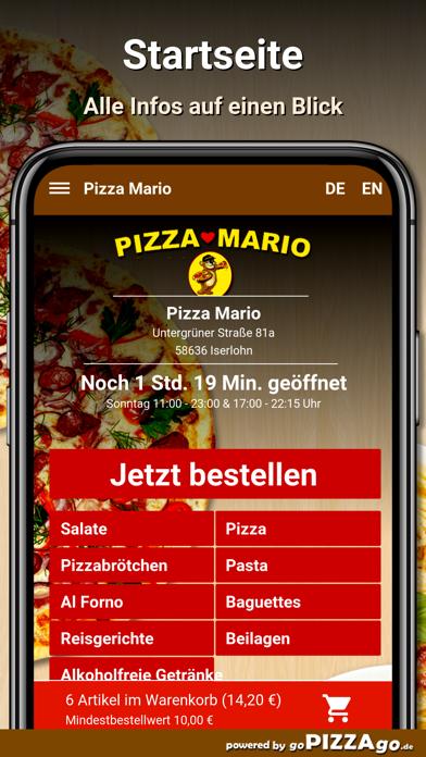 Pizza Mario Iserlohn screenshot 2
