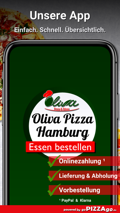 Oliva Pizza & Döner Hamburg screenshot 1