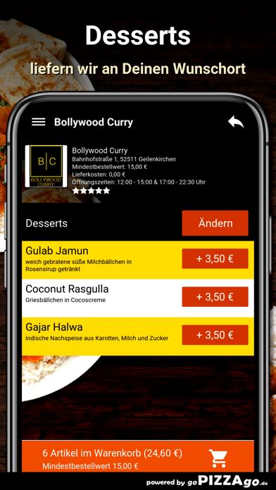 Bollywood Curry Geilenkirchen screenshot 6