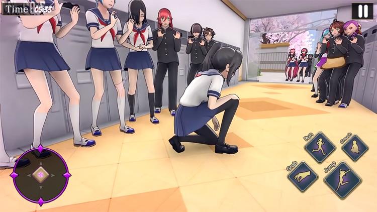 Anime Bad Girl School Life Sim