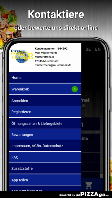 Pizza Welt Mönchengladbach screenshot 3