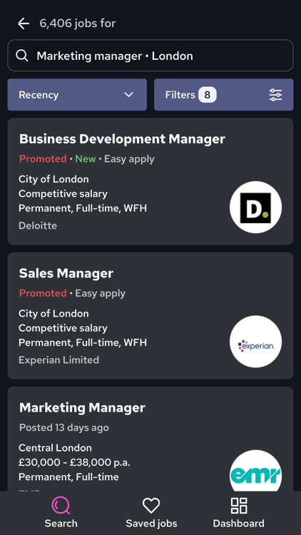 Reed.co.uk Job Search screenshot-8