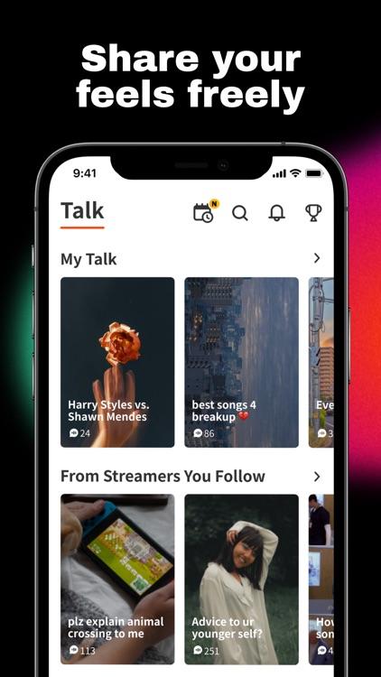 Spoon: Livestream chat & music screenshot-4