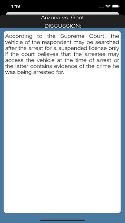 Case Law Studies screenshot-4