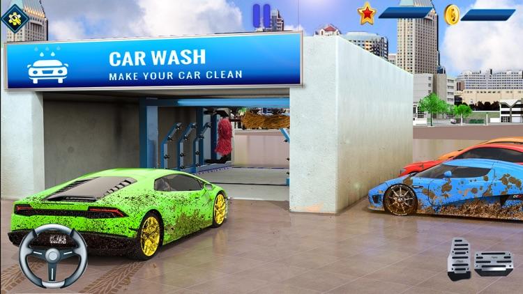 Super Car Wash Game Simulator