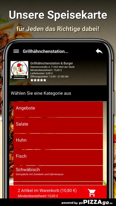 Grillhähnchenstation & Burger screenshot 4