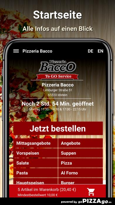 Pizzeria Bacco Idstein screenshot 2