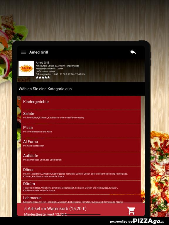 Amed Grill Tangermünde screenshot 8