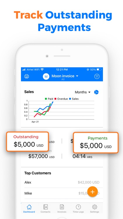 Simple Invoice Maker App- Moon