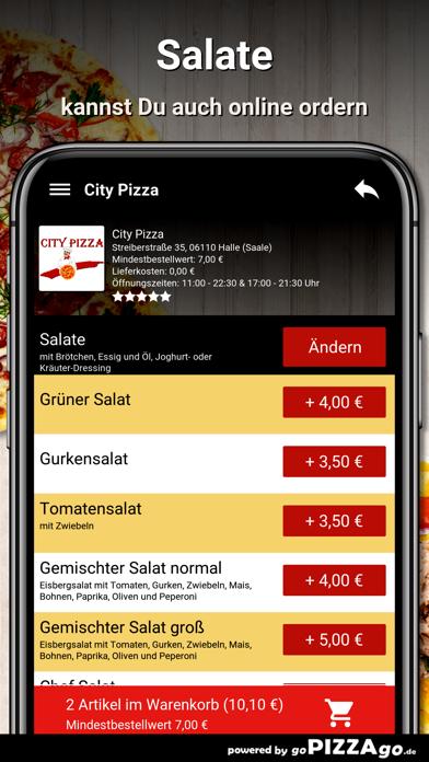 City Pizza Halle (Saale) screenshot 6