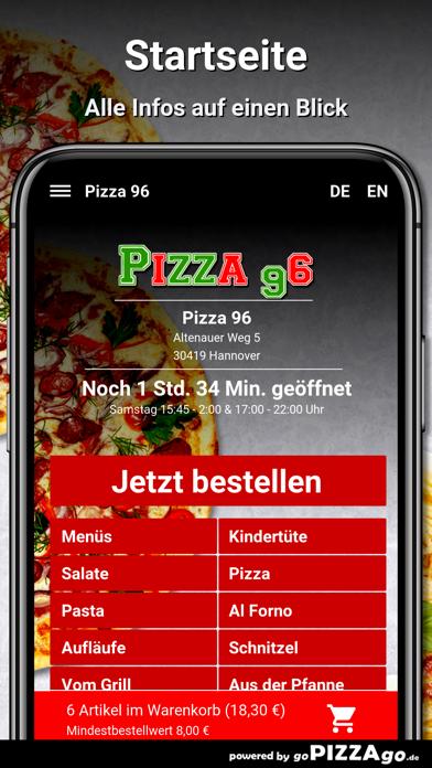 Pizza-96 Hannover screenshot 4