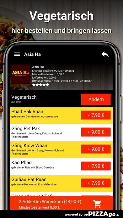 Asia Ha Nürnberg screenshot 6