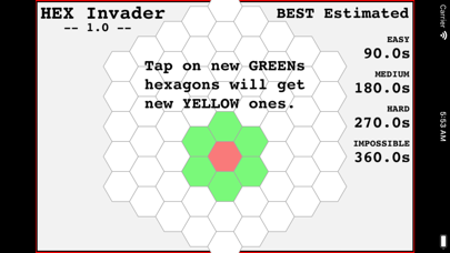 Hexagon Invader screenshot 8