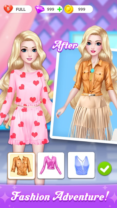 Project Makeup: Makeover Games Screenshot on iOS