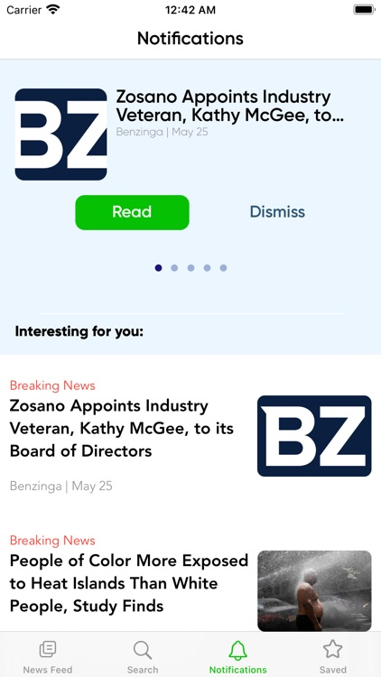 Newsflash Speed Reader screenshot-7