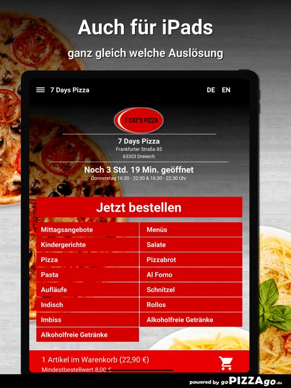 7 Days Pizza Dreieich screenshot 7