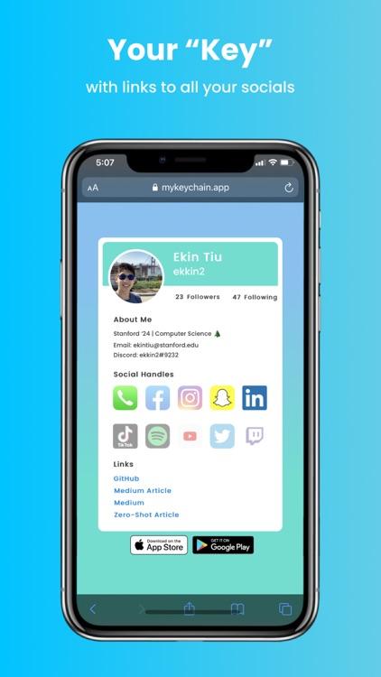 myKeychain — Your Social Cloud